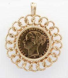 Gold Coin Necklace, Coin Jewelry, Glass Jewelry, Victorian Jewelry, Antique Jewelry, Bridesmaid Jewelry, Wedding Jewelry, Gravure Metal, Jewelers Near Me