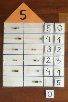 Top 40 Examples for Handmade Paper Events - Everything About Kindergarten Kindergarten Math Activities, Math Classroom, Math Resources, Teaching Math, Preschool Activities, Math Stations, Math Centers, Early Math, Math Addition