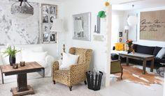 white + eclectic home of Fru Andersen, Norway #white_floors