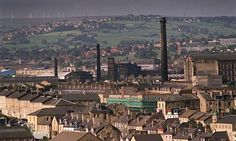 Bradford skyline. Photograph: Guardian/Simon Barber