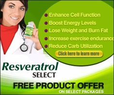 Resveratrol has been featured on a number media outlets including 60 Minutes, and the Discover Channel. Resveratrol Select has taken that one step further by combining the cell protective benefits of Resveratrol with our own proprietary blend to help you Enhance Cell Function, Boost Energy Leves, Lose Weight, Burn Fat and Increase your metabolism. This offer is available worldwide. http://track.markethealth.com/SH99T #weightlosstipsforwomen