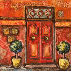 Topary door Store Fronts, My Favorite Things, Painting, Art, Art Background, Painting Art, Kunst, Paintings, Performing Arts