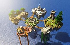 Elemental Delusion [PVP Map] Minecraft Project