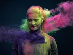 Throwing Colored Powders: The Ars Thanea Photo Shoot | Illusion ...