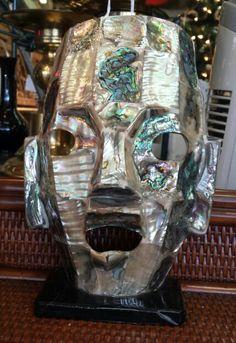 Abalone face mask