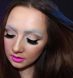 Pin for Later: Glitter Brows Are the Bedazzling Beauty Trend That Will Give You Life