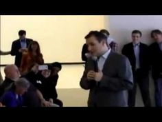 Ted Cruz scares kid with lies at political event (VIDEO)