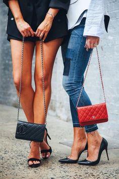 Chanel twins.