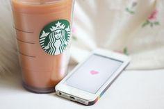 Image via We Heart It https://weheartit.com/entry/94655758/via/17424883 #app #apple #beautiful #beverage #carol #coffe #coffee #drink #heart #hi #ILoveYou #iphone #phone #photo #pink #relax #smile #starbucks #sweet #telephone #weheartit #weheartit #yes #nicee #starbuck's #caramelmocha #5c #we♡it #starbucksilove #assouma