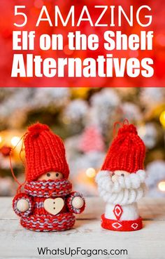 I LOVE these Elf on the Shelf Alternative Ideas for counting down to Christmas! I don't know which unique advent activity idea is my favorite for my family!