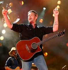 Blake Shelton performed during the CMA Music Festival Nightly Concerts series at LP Field in Nashville June 7.