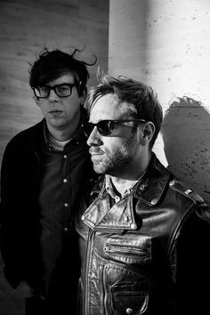 By Danny Clinch - Patrick Carney and Dan Auerbach, the Black Keys