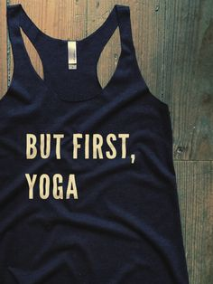 Show everyone how much you love yoga with this Suzy Squats yoga workout top, suitable as part of your yoga outfit or for casual wear. Click the link above to see more workout clothing that's perfect for even the most intense yoga workout at the Suzy Squats store.