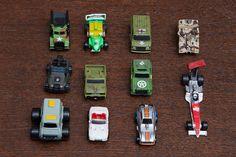 Le Micro Machines, le macchinine piú piccole mai uscite sul mercato.