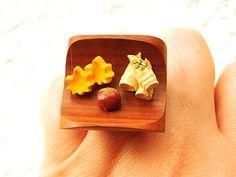 Japanese Food Ring Autumn