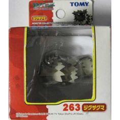 Pokemon 2004 Zigzagoon Tomy 2 Monster Collection AG Plastic Figure #263
