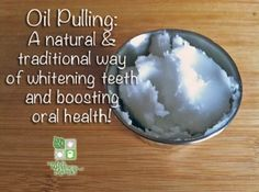 5 out of 10: Oil Pulling, A Natural Way to Improve Oral Health. I do this in the shower since it takes so long.