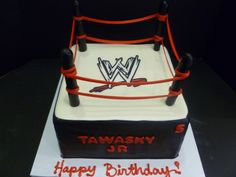 WWE Cakes Pic