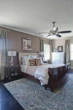 Erik U0026 Paulu0027s Happy Los Feliz Home. Blue Carpet BedroomBlue Bedroom WallsBlue  ...