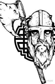 Leif der Wikinger mit Axt