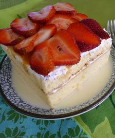 Traditional Pastel de Tres Leches