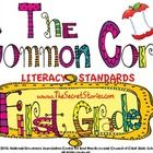 FREE Common Core Literacy Poster Sets for KINDERGARTEN and FIRST GRADE.... SECOND GRADE will is coming soon!!!    Enjoy & Share :)