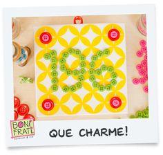Blog BoniFrati: PAP: Placa com número de casa de azulejo e botões