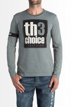 Th3 Choice. Camiseta Logo Recycled Gris Antracita  64.00€