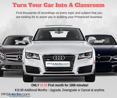 Turn your car into a classroom! Subscribe today for only $9.99 and cancel any time you want! www.pfsmedia.com #primerica #topearners #doitbig #pfs #pfsmedia #turnyourcarintoaclassroom