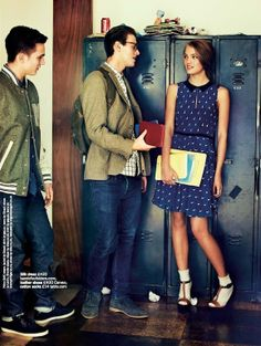 """Preppy Style is Just So Cute"" by Chris Craymer for Glamour UK January 2013"