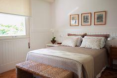 quarto de casal - quarto - painel de madeira - marcenaria - bedroom - Studio 021 Arquitetura