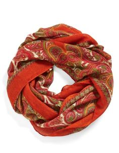 vibrant paisley infinity scarf http://rstyle.me/n/qxy4epdpe