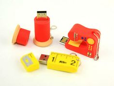 Sewing Shaped USB Sticks for Crafts/Gifts