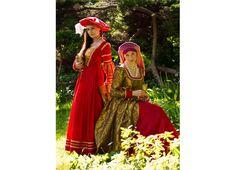 Suknie 16 wiek, niemiecka i angielska. www.agnieszkamazur.com