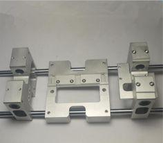 Replicator-3d printer aluminum-upgrade-parts Replicator Flashforge Upgrade X axis metal Extruder Carriage +Y axis carriage kit