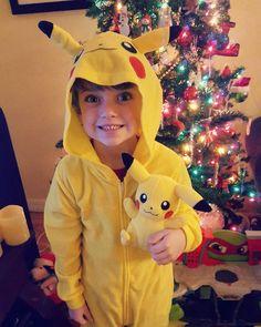 "Tarah Hauk on Instagram: ""Merry Christmas #mypikachu #pikachu⚡ #pajamas #pikachustuffedtoy #pikachupajamas #gottacatchthemall #christmas2016"" Christmas 2016, Merry Christmas, Pikachu Pajamas, Gotta Catch Them All, Toys, Instagram, Merry Little Christmas, Activity Toys, Clearance Toys"