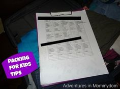 25+ tips for car trips with young kids - Adventures in Mommydom