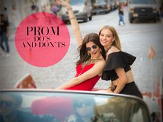 Prom Do or Don't? Let's Discuss!  On prom night there's very few (if any) specific guidelines.  It's mostly common knowledge that comes into play; find a date, dress, mode of transportation, and you're set.  But there's always extra tips and tidbits to help make the process as smooth as possible.  Keep reading for our own unwritten rules to having the best prom night ever.  DO: Test prom hair and makeup early.  Ever arrive at the hair salon for a trim and leave with a pixie cut?  Well…