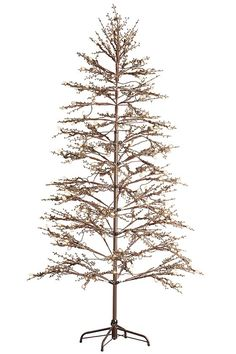 Pre-Lit Potted Christmas Tree, 4.5ft | Potted christmas trees ...