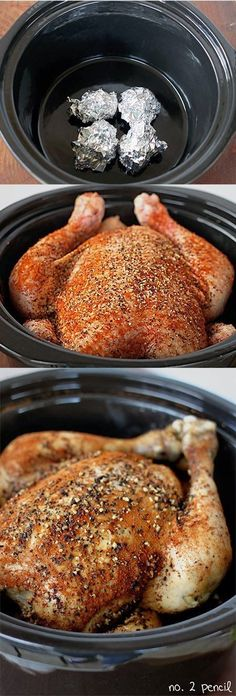 How To Slow Cooker Chicken
