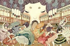 Yoko Furusho, Illustration