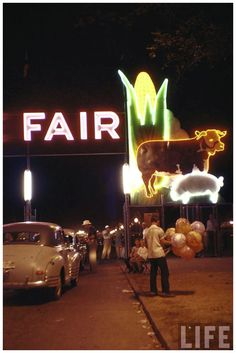 """Iowa State Fair, 1955 Photo by John Dominis I saw the movie State Fair - """"Our state fair is a great state fair. Don't miss it. Don't even, be late..."""" the movie was based on the IA State Fair"""