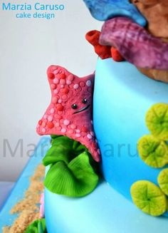 Nemo Cake Detail