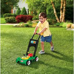 Train your kids to mow the lawns early with the Little Tikes Gas N Go Mower. The mini-mower allows kids to mimic mowing the lawn, helping them to build co-ordination skills as well as firing up their imagination and getting them moving. Outdoor Toys For Toddlers, Toys For Boys, Luxury Kids Clothes, Toys For 1 Year Old, Toys Uk, Little Tikes, Preschool Toys, Toddler Toys, Girl Toddler