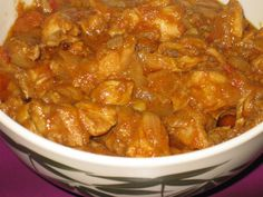 Slow cooker Chicken Vindaloo - this was really good, very flavorful. I might use chicken thighs next time, as the breasts were kind of dry.
