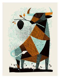 Bull Hive von  Methane Studios Poster - (Kunstdruck) auf Poster.de. Finden Sie ähnliche Kunstwerke für Ihre Wände und weitere Artikel.