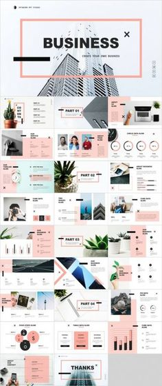 Multipurpose and minimal design PowerPoint template - Trend Bildungsarchitektur 2019 Ppt Design, Keynote Design, Powerpoint Design Templates, Logo Template, Icon Design, Layout Design, Booklet Design, Brochure Design, Keynote Template