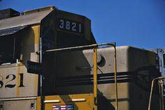 Santa Fe GP50 NO. 3821 Blue Flagged