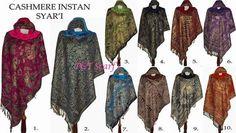 So trendy,,,, CASHMERE INSTANT SYAR'I | GROSIR ECER BORONG PASHMINA|Shawl Scarf Pashmina Kerudung Jilbab Tudung Polos Motif Murah