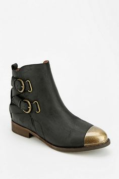 Jeffrey Campbell Livingston Cap-Toe Ankle Boot